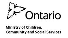 Ontario Ministry of Children & Community Social Services Logo